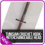 Tunisian Crochet Hookinterchangable Head