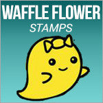 Waffle Flower Craft Stamps