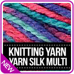 Knitting Yarn Silk Multi