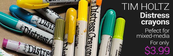 Ranger new distress crayons - great colours - for only $3.99