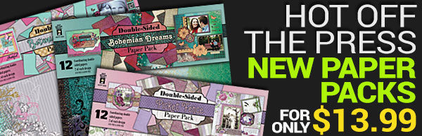 Hot Off the Press - new paper packs - for only $13.99