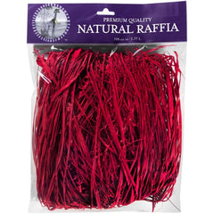 Super Moss Raffia  - 108 cubic inches - Christmas Red