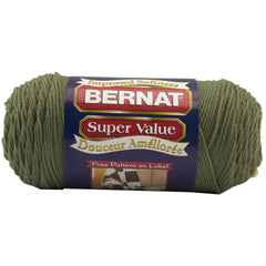Bernat Super Value Solid Yarn - Forest Green - 7oz (197g) 426yd