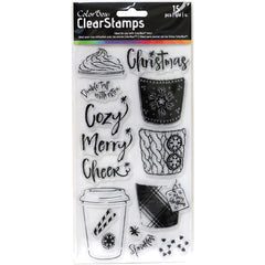 ColorBox Clear Stamps Cozy Cup