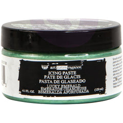 Prima Marketing - Finnabair Art Extravagance Icing Paste 120ml Jar - Lucky Emerald
