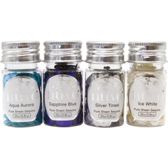 Nuvo Pure Sheen Sequins 4 pack Let It Snow