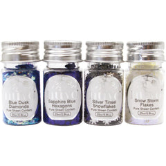 Nuvo Pure Sheen Confetti 4 pack Let It Snow