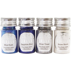 Nuvo Pure Sheen Glitter 4 pack Let It Snow