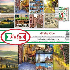 Reminisce Collection Kit 12 inchX12 inch Italy