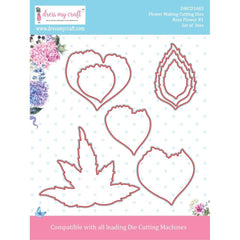 Dress My Craft - Rose Flower No.1 (.86 To 4.25in)