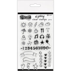 Dyan Reaveleys Dylusions Clear Stamps 4 inch X8 inch The Full Package