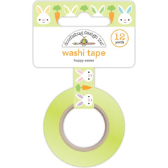 Doodlebug Washi Tape 15mmx12yd Hoppy Easter