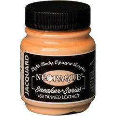 Jacquard Neopaque Acrylic Paint 2.25oz - Tanned Leather - Sneaker Series