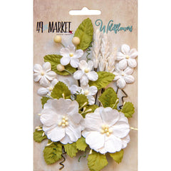 49 and Market Flower Embellishments - Wildflowers - Cloud