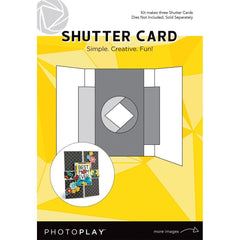 Photo play - Shutter Card 3 pack - Makes 3