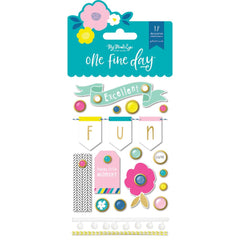 My Minds Eye - Decorative Brads 18 per pack - One Fine Day