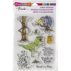 Stampendous Perfectly Clear Stamps - Creature Tricks