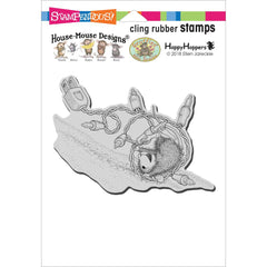 Stampendous House Mouse Cling Stamp - Tangle Tumble