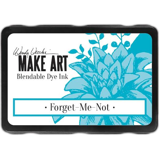 Wendy Vecchi Make Art - Dye Ink Pads - Forget-Me-Not