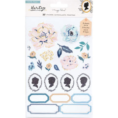 Crate Paper - Maggie Holmes Heritage Collection - Clear Sticker Book with Gold Foil Accents