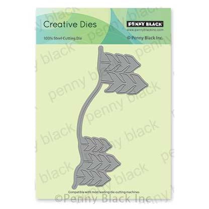 Penny Black Creative Dies - Tree Border 5.8 inchX2.7 inch