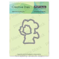 Penny Black Creative Dies - Hopping By Cut Out 2.5 inchX3 inch