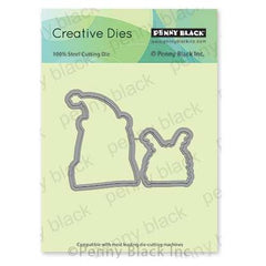 Penny Black Creative Dies - Xmas Costumes Cut Out 3.5 inchX2.7 inch