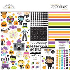 Doodlebug - Essentials Page Kit 12 inchX12 inch - Candy Carnival