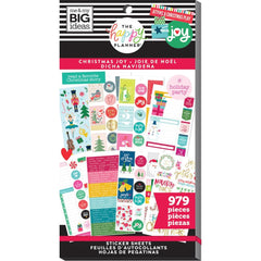 Me & My Big Ideas - Happy Planner Sticker Value Pack - Christmas Joy, 979 pieces