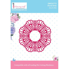 Dress My Craft Die - Floral Doily