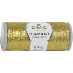 DMC Diamant Grande Metallic Thread 21.8yd - Dark Gold