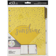 Happy Planner 12-Month Undated Medium Planner Extension Pack - Sunshine 453 pack