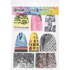 "Dyan Reaveley's Dylusions Collage Sheets 8.5""X11"" 24/Pkg - Set 2"