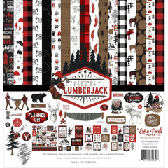 Echo Park Collection Kit 12in x 12in - Let's Lumberjack
