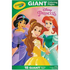 Crayola Giant Colouring Pages 12.75in x 19.5in - Princess