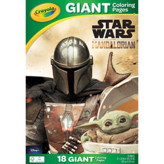Crayola Giant Colouring Pages 12.75in x 19.5in  Star Wars