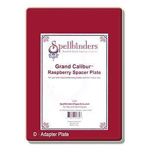 Spellbinder - Grand Calibur Spacer Plate - Raspberry