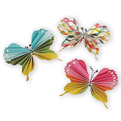 i-crafter Dies - Folded Butterfly 3D