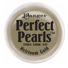 Ranger Perfect Pearls Pigment Powder .25oz - Heirloom Gold