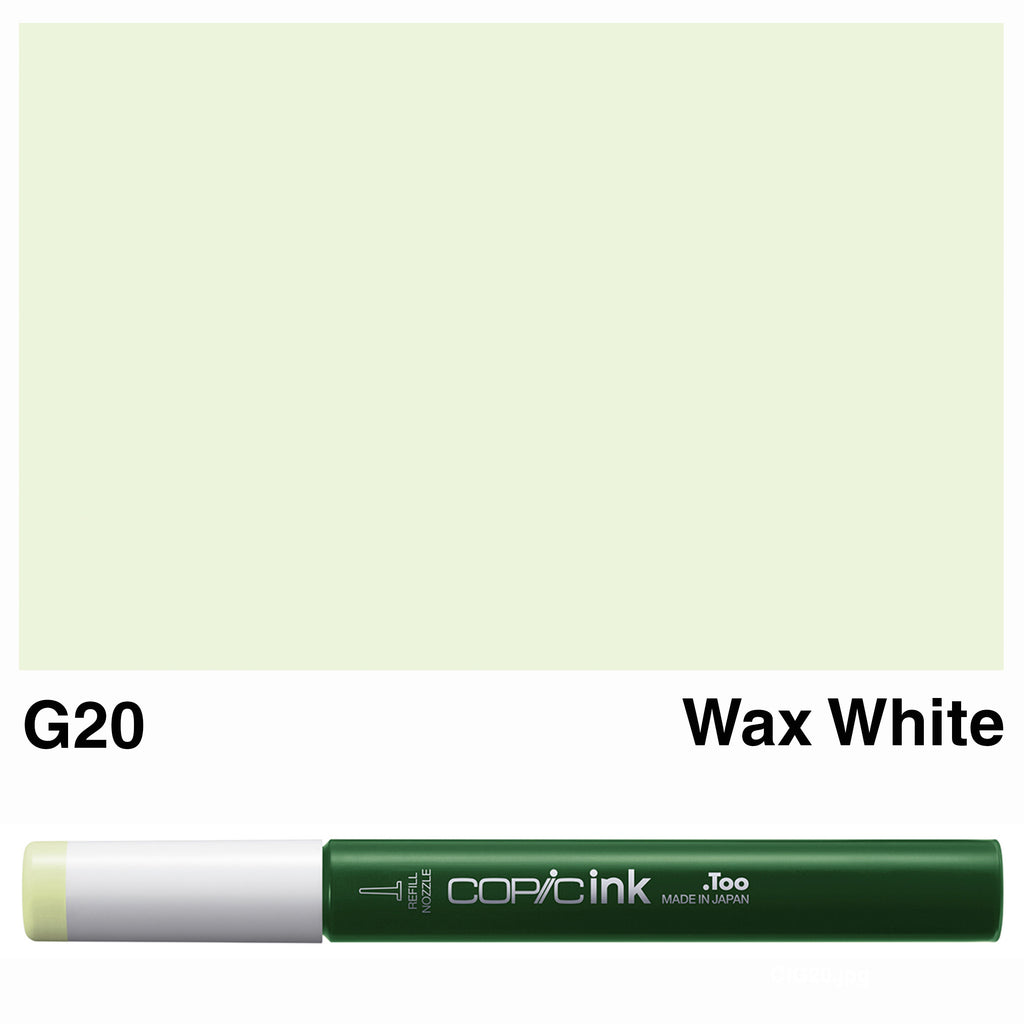 Copic Ink G20-Wax White