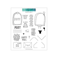 Concord & 9th Clear Stamps 6 inch X6 inch - Mail Drop