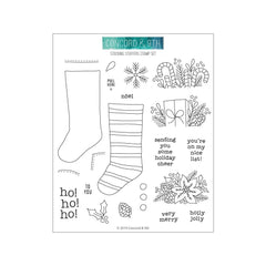 Concord & 9th Clear Stamps 6 inchX6 inch - Stocking Stuffers