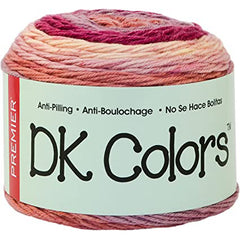 Premier Yarns Anti-Pilling DK Colours Yarn - Tulip - 140g