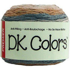 Premier Yarns Anti-Pilling DK Colours Yarn - Strata - 140g
