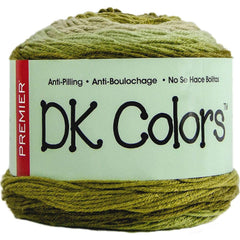 Premier Yarns Anti-Pilling DK Colours Yarn - Moss - 140g