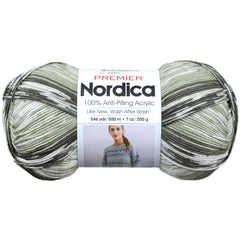 Premier Yarns Nordica Yarn - Olive - 7oz/200g