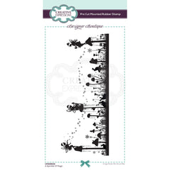 Creative Expressions Designer Boutique Pre Cut Rubber Stamp DL - A Sprinkle Of Magic