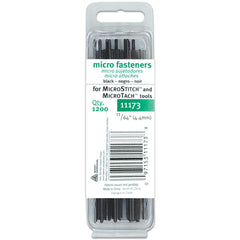 Avery-Fasteners Micro Stitch Fastener Refills 4.4mm Black 1,200 pack