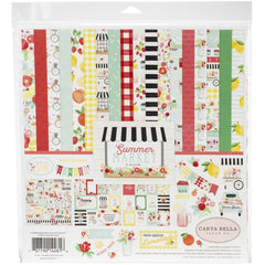 "Carta Bella Collection Kit 12""X12"" - Summer Market"