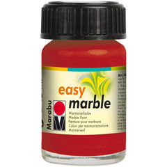 Marabu Easy Marble Paint 15ml - Ruby Red